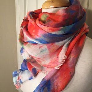Saks Fifth Avenue BLACK Label 100% Modal scarf